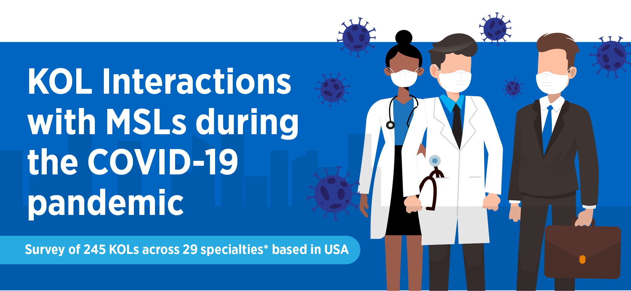 KOL Interactions with MSLs during the COVID-19 Pandemic Follow-Up Study Infographic.